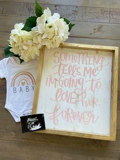 Cute Pregnancy Photos, Cute Pregnancy Announcement, Baby Announcement Photos, Cute Baby Photos, Pregnancy Announcements, Baby Pictures, Rainbow Baby Announcement, Baby Goods, Boho Baby Shower