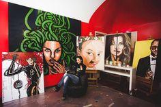 Inside your studio: Lucia Ferrara Art by Isabel Fassone