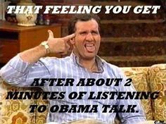 All talk and no substance!
