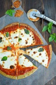 Pizza de quinoa (sin gluten, saludable, fácil de preparar) www.pizcadesabor.com