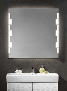 Electric Mirror SCALA Lighted