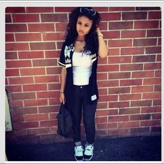 India Westbrooks Dope Pretty Girl Swag Outfit |@aniyahope|