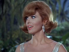 Image of Gilligan's Island for fans of Gilligan's Island. Ginger Gilligans Island, Mary Ann And Ginger, Ginger Grant, Eden Hair, Bewitched Elizabeth Montgomery, Real Tv, Barbara Eden, Tina Louise, 60s Hair