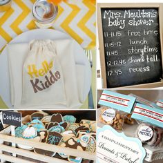 42 of the best baby shower themes and ideas! #pregnant #babyshower