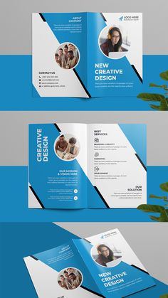 This Corporate Tri-fold Brochure template is suitable for a creative and corporate agency. It's made with Photoshop and easily editable text, logo, color, image, and all layers are properly organized. In this PSD file. #brochure #bifold #bifold_brochure #brochure_template #proposal #annualreport #squre_brochure #bifold_design #elegant #flyer #corporate_bifold #business_bifold a4_brochure #brochure_template #corporate #business #advertising #company_profile #multipurpose #promotion #markting Bi Fold Brochure, Brochure Design, Brochure Template, Corporate Business, Business Brochure, Business Names, Tri Fold, Company Profile, Logo Color