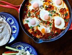How to Make Authentic Shakshuka