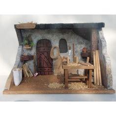Risultati immagini per casas para belenes Christmas Nativity Scene, Christmas Crafts, Christmas Ornaments, Fontanini Nativity, Living Bible, House Lamp, Medieval Houses, Farm Art, Ceramic Houses