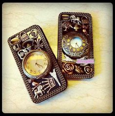 iPhone5 case iPhone 5 cover iPhone 4s Cases iPhone 4 unique iPhone cases bronze cute charms retro Pocket Watch custom samsung galaxy s3 case on Etsy, $29.61 CAD