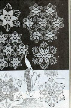 Crochet Snowflake Pattern, Crochet Motif Patterns, Crochet Doily Diagram, Crochet Lace Edging, Crochet Snowflakes, Filet Crochet, Crochet Flowers, Crochet Stitches Chart, Thread Crochet