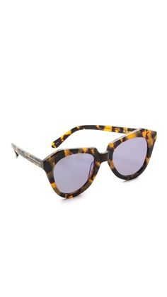 dd4fa48b994 Karen Walker Superstars Collection Number One Mirrored Sunglasses Number  One