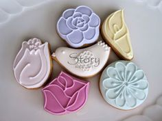 Story sugar art - Mother's Day cookies