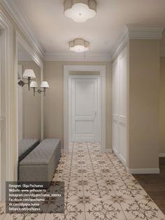 """Дизайн интерьера, 3d визуализация - Проект """"Дизайн прихожей. Квартира в Ялте."""""""