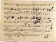 mozart handwritten sheet music - Google Search