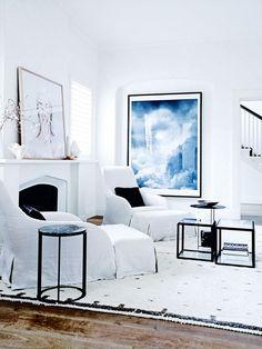 Vogue Living — House tour: a fantastically fashionable apartment...