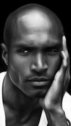 Ekwom shoot Gorgeous Black Men, Handsome Black Men, Beautiful Men, Handsome Faces, Black Male Models, Black Image, African Beauty, Interesting Faces, Male Face