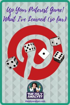 Up Your Pinterest Game For Free! - Yes! FREE! I have not spend ONE DIME on Pinterest Training! In this blog post, you will learn what I've done (so far) to increase my monthly views! Check it out by clicking this graphic! You won't be sorry! | #Pinterest | #Blogging | #Blog | #SocialMedia | #PinterestPins | #RichPins | #PinterestFollowers | #PinterestHelp | #PinterestTricks | #PinterestTips | Written by theoilyanalyst.com