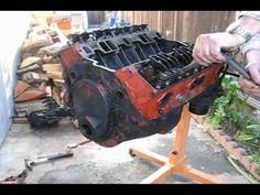 Chevy Small-Block Rebuild Time-lapse - YouTube