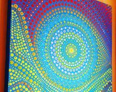 93 meilleures images du tableau Peinture aux pointillés | Peinture, Art aborigène et Pointillisme