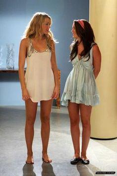 Serena and Blair Pyjama Party   Gossip Girl ♥♠♥