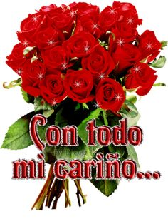 Animated Gif by Carmen Vazquez Da Rosa Beautiful Flowers Pictures, Beautiful Bouquet Of Flowers, Beautiful Flower Arrangements, Flower Pictures, Love Flowers, Happy Birthday Flower, Happy Birthday Images, Birthday Wishes, Mothers Day Images