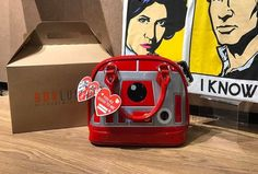 New Loungefly x Star Wars Valentine's Day R2-R9 mini dome handbag exclusive to Box Lunch