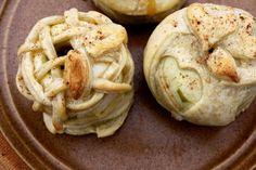 Skønne bagte æbler...
