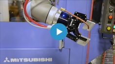 Video - Robotic Machine Tending with Flexible Robot Gripper Robot Gripper, Problem And Solution, Robotics, Case Study, Flexibility, Challenges, Back Walkover