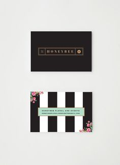 Brand development for Honeybee Floral and Events