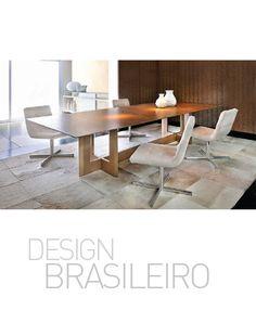 Folder 2014: Mesa de Jantar Slim (designer: Studio BW) e Cadeiras Charly (designer: Sérgio Fahrer)