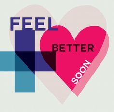 Feel better soon ( with a clean vibrant design! )  http://www.eventure.com #cards #getwell #eventure