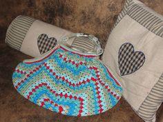 A chrochet bag