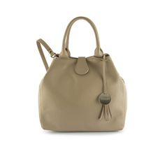 Pioppi Bucket Cream by Dicami. Beautifully crafted in richly textured Italian calf leather this bucket-style bag boasts a spacious interior and silver tone accents. Made in Italy using fine Italian leather. Italian Leather, Calf Leather, Bucket Bag, Calves, Italy, Handbags, Cream, Interior, Fashion