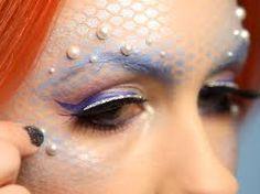 Resultado de imagem para mermaid makeup