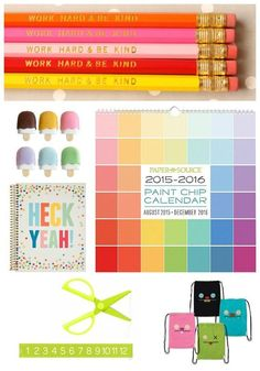 The coolest school supplies for back to school: Dozens of fun ideas to make the school year a little more fun.