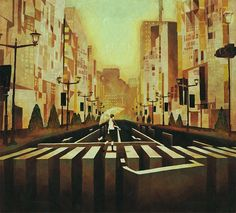 Kai Fine Art is an art website, shows painting and illustration works all over the world. Art And Illustration, Manga Illustrations, Supernatural, Street Art, Anime City, Animation Background, Anime Scenery, Indie, Japanese Artists