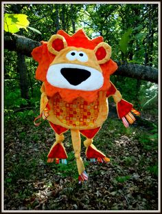 Taggert the Taggie Lion Blanket