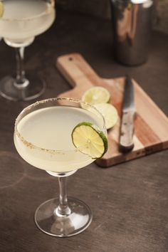 Pin for Later: Don't Waste Calories at a Bar: 5 Low-Calorie Cocktails to Order at Happy Hour Margarita