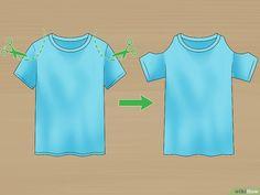 3 manières de découper joliment un t–shirt - wikiHow