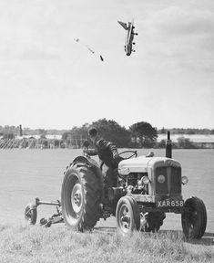 Jim Meads hielt 1962 den Absturz eines Kampfjets fest