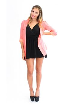 Pink Blazer from evolutionclothing.co.nz Light Shades, Online Shopping Clothes, Bright Pink, Pretty In Pink, Cold Shoulder Dress, Bridesmaid Dresses, Blazer, Clothes For Women, Casual