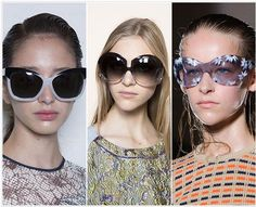 Spring/ Summer 2015 Eyewear Trend #4: Oversized Sunglasses