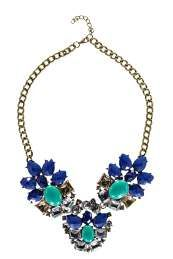 Hannah Floral Statement Necklace
