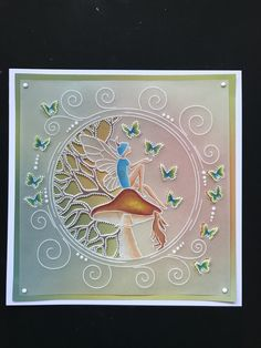 Vellum Paper, Paper Art, Clarity Card, Barbara Gray, Parchment Cards, Lavinia Stamps, Fairies, Magic, Plates