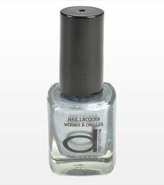Silver Nail Polish - perfect for the holidays! Silver Nail Polish, New Year Celebration, Holiday Wishes, Perfume Bottles, Nail Art, Holidays, My Style, Nails, Christmas