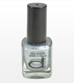 #DYNHOLIDAY Silver Nail Polish - perfect for the holidays!