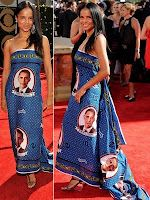 Victoria Rowell - Obama Dress at the Emmy Awards People Failing, Funny People Pictures, Black Thread, African Fabric, Obama, Printing On Fabric, Black Women, Awards, Victoria