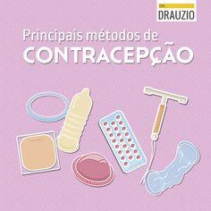 Chamada: Principais Métodos de Contracepção.  Conteúdo: Uzumaki Comunicação Arte: Lab62