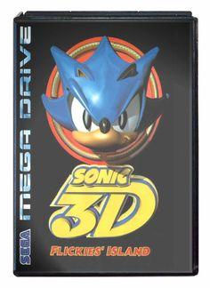 Buy Sonic 3D Flickies' Island Mega Drive Australia