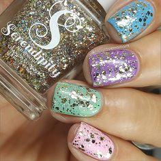 nails.quenalbertini: Instagram photo by lalalovenailart