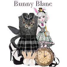 Resultado de imagen para ropa de bunny blanc de ever after high